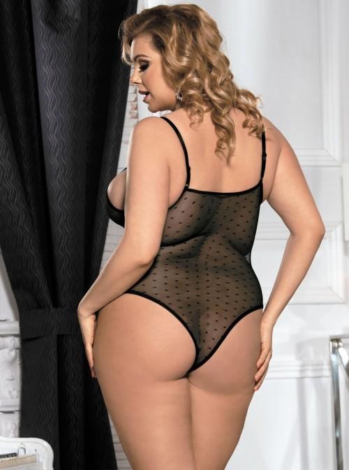 Body sexy décolleté ouvert | Camélia