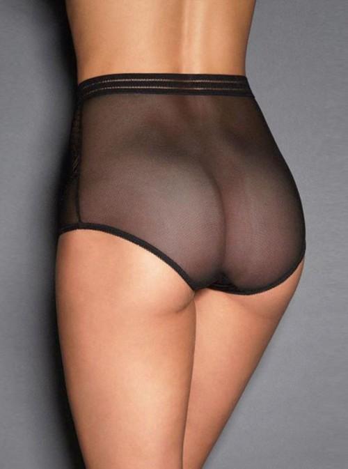 Culotte haute sexy | noir, violet ou rouge | Marlene