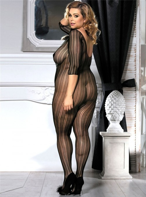 Combinaison sexy à rayures | Norma